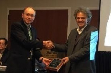 BSOS`s Justice Receives Outstanding Contributions in Remote Sensing Award