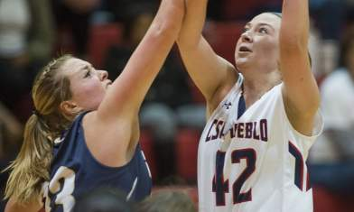 Pack's Rohrer delivers 23 in win over big sis, S.D. Mines