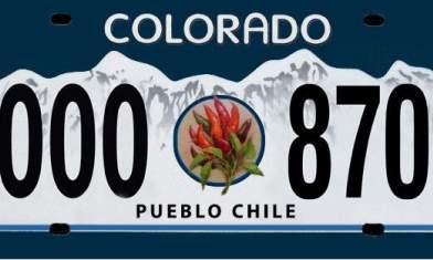 Pueblo Chile plate bill passes, now heads to Senate