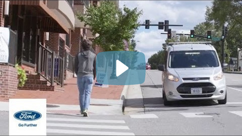 `Mystery Van` Helping Self-Driving Cars Communicate with People | Autonomy | Ford
