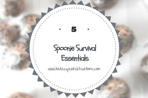 5 Spoonie Survival Essentials!   Katie Cupcake - Life With ME