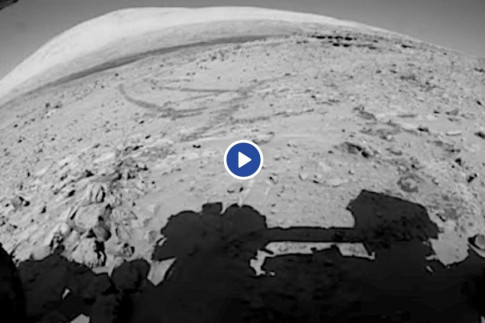 NASA released 5-year time-lapse of Mars from its Curiosity rover -and the footage looks amazing