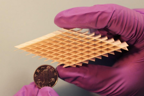 Art of paper-cutting inspires self-charging paper device