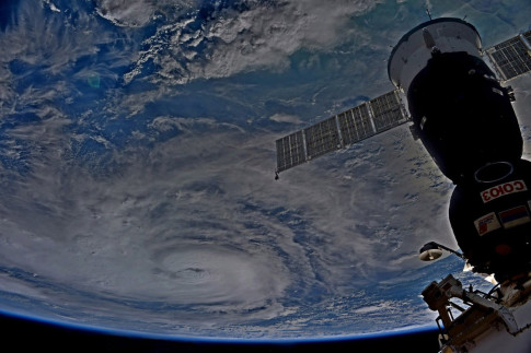 Astronauts, Satellites Track Dangerous Hurricane Harvey from...