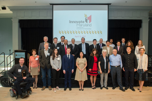 """Campus Innovators, Partners Honored at """"Innovate Maryland"""""""