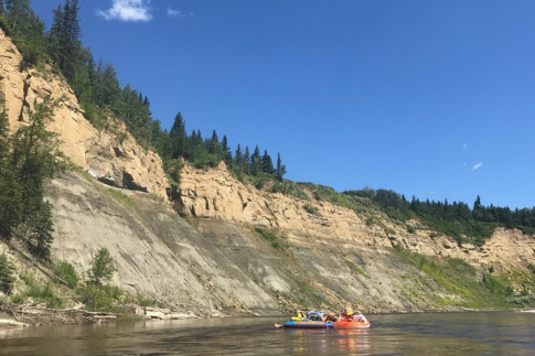 Day Trip Date: Tubing at Pembina River