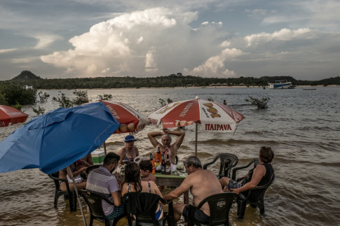 Deep in the Amazon, a Remarkable Beach (and Ant-Eating) Experience