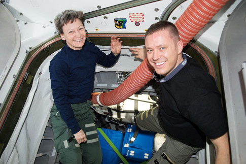 Dragon Packing and BEAM Checks Onboard Station Today