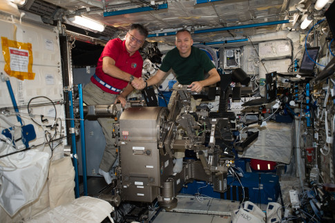 Experienced Trio Brings Station Crew up to Full Speed