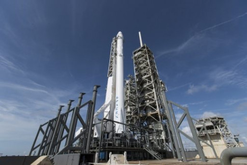 Falcon 9 Checks Off Static Fire Test for Next Dragon Launch to...