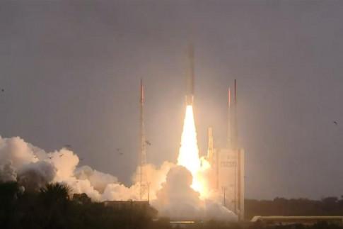 """Galileo-Satelliten """"Nicole"""", """"Zofia"""", """"Alexandre"""" und """"Irina"""" umkreisen die Erde"""
