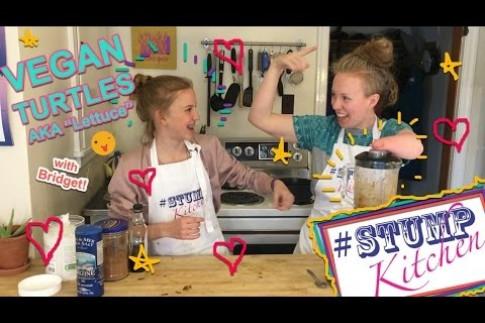 How to make Vegan Turtles! Stump Kitchen 43