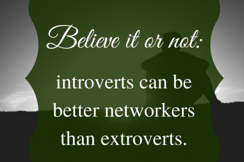 Introverts Rock at Networking