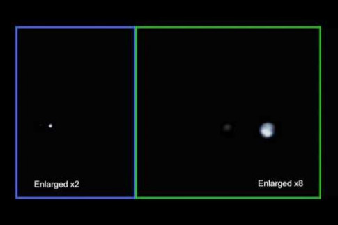 Juno Flies by Earth and Moon (music by Vangelis)