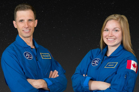 Meet Canada`s Two New Astronauts