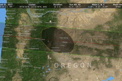 Moon Data Provides More Accurate 2017 Eclipse Path