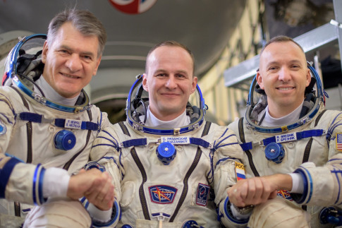 NASA TV Coverage Set for Next International Space Station Crew...