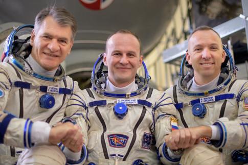 NASA TV Coverage Set for Next International Space Station Crew...