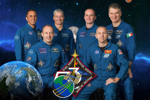 New Trio Begins Five-Month Mission, Station Crew Expands to Six
