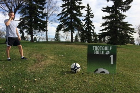 Not So Deadmonton Series: FootGolf