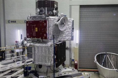 Preparing for Mercury: BepiColombo stack completes testing