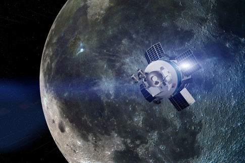 Robotic landers could start mining the moon as early as 2020