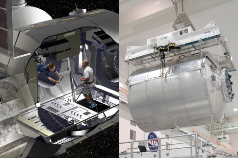 Shuttle-Era Cargo Module to Become Deep Space Habitat Prototype