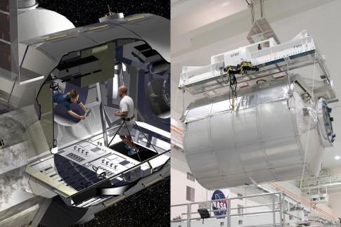 Shuttle-Era Cargo Module to Become Deep Space Habitat Prototype
