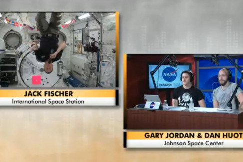 Space Station `Air Bed`: Astronaut Jack Fisher Gives Some Wild...