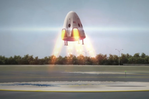 @spaceflight101: SpaceX cuts Plans for Powered...