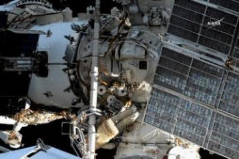 Spacewalk Comes to a Close