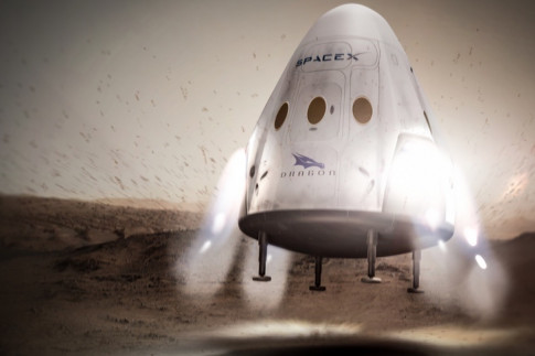 SpaceX drops plans for powered Dragon landings - SpaceNews.com