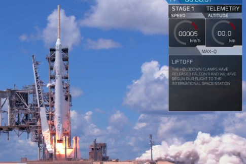 SpaceX Launches Cargo Resupply Mission to the Space Station