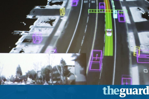 Street wars 2035: can cyclists and driverless cars ever co-exist?