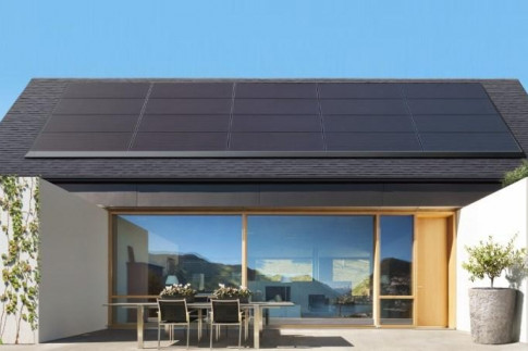 Tesla Introduces Sleek, Low-Profile Solar Panels