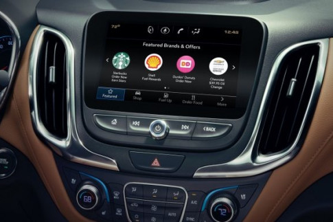 This Morning, GM Gave Four Million Car Owners the Ability to Order Coffee and a Doughnut via Touchscreen