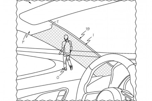 Toyota Patents Cloaking Device to Make Car Pillars Appear Transparent