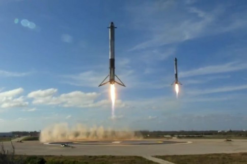 Video: Falcon Heavy's Long-Awaited Shakedown Mission – Spaceflight101