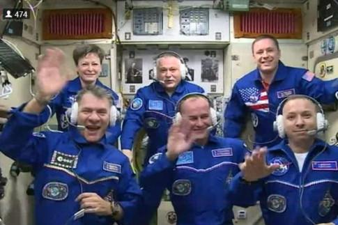 VITA: Paolo Nespolis dritter Besuch auf der ISS