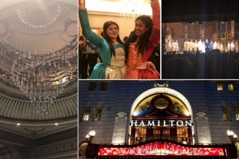 Were YOU at Hamilton`s first preview? Our spy in the stalls was. Here`s his view