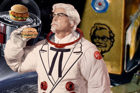 When KFC Actually Went to Space: Before Zinger 1, There Was...