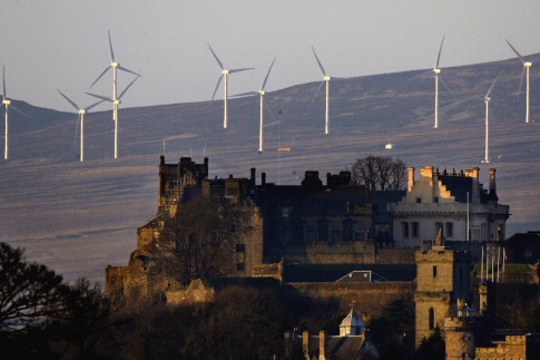 Wind power provided enough energy for 136% of Scottish households