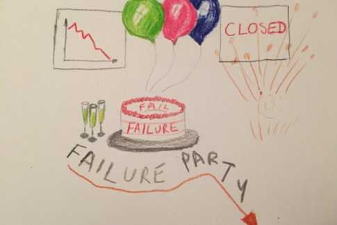 Yippee, I`ve failed, let`s have a party