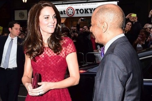 Duchess of Cambridge dazzles at 42nd Street