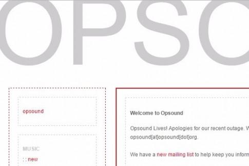 Opsound