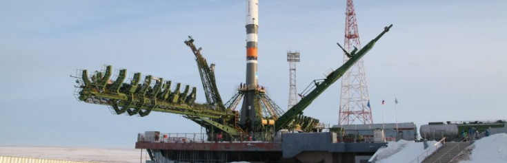 Soyuz Rocket Rolls out for Launch of Progress MS-08 Cargo Craft on Two-Orbit ISS Rendezvous – Spaceflight101