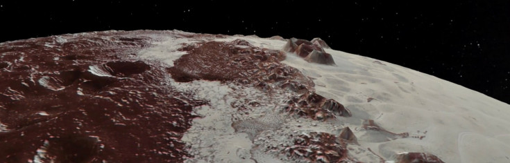 NASA Video Soars over Pluto`s Majestic Mountains and Icy Plains
