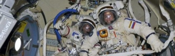 Russian Spacewalkers Collect Overtime in Busy EVA for Satellite...