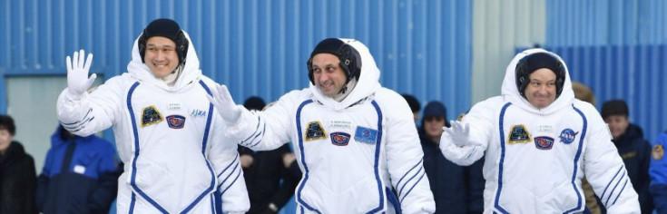 Weihnachten im All: Drei Raumfahrer zur ISS gestartet