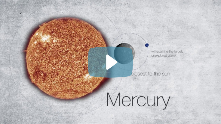Airbus BepiColombo Probe to Mercury